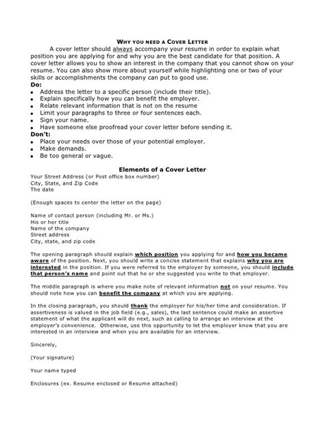Write A Cover Letter To Accompany Your Resume by Writing Your Resume And Cover Letter