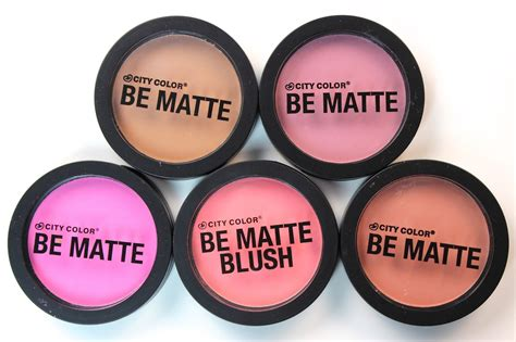 city color cosmetics review city color cosmetics be matte blushes makeup reviews