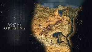 Assassin39s Creed Origins La Carte Du Jeu Se Dvoile En Image