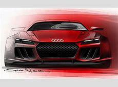 Audi Quattro Sport etron concept sketches leaked photos