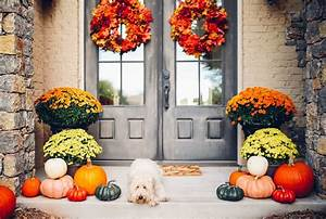 20, autumn, decorating, ideas, for, front, porch, , , updated, 2020