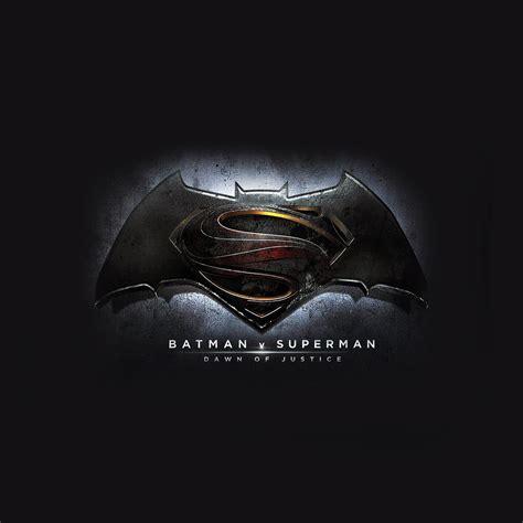 Superman Batman Logo Wallpaper