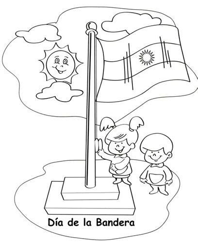 dibujos colorear del dia de la bandera argentina argentina pinterest argentina and dia de