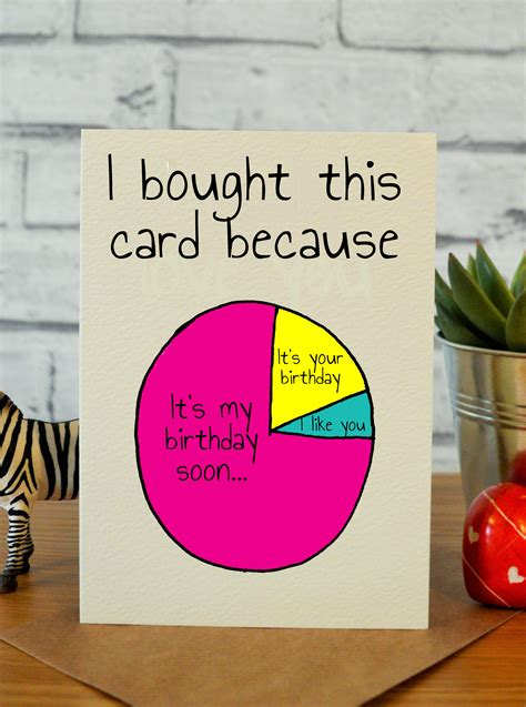 funny birthday card  friend birthday card