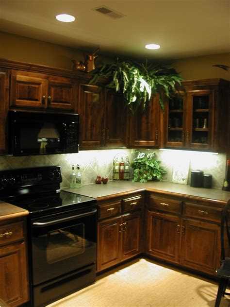 Kitchen & Dining Kitchen Decoration With Lights Accent
