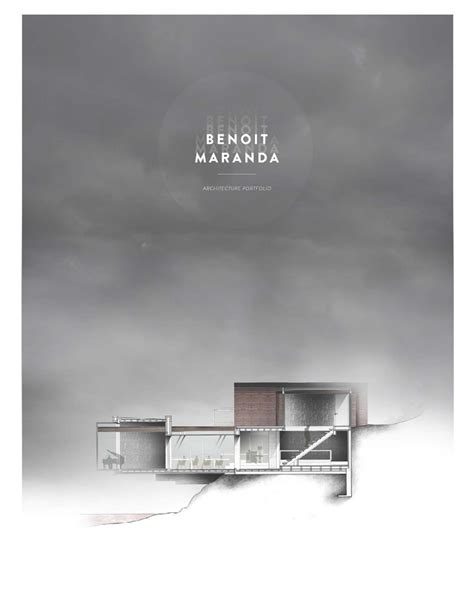 10 Outstanding Architecture Portfolio Example Covers The
