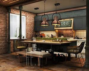 3, Stunning, Homes, With, Exposed, Brick, Accent, Walls