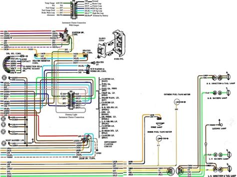 1972 Chevy Ignition Switch Wiring Diagram by 1970 Chevy C10 Ignition Switch Wiring Diagram Wiring Forums
