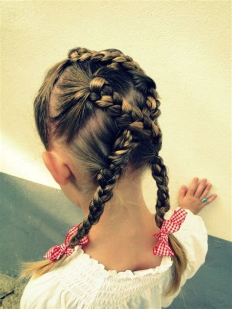 Hairstyles For Kid by 15 Easy Hairstyles For Kidsomania