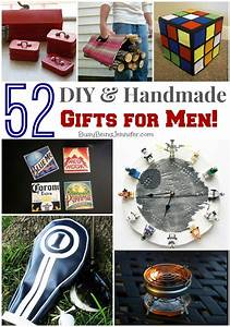 52 DIY Gifts for Men! - Busy Being Jennifer