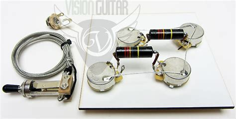 1956 60 pre wired les paul wiring harness kit shaft cts reverb