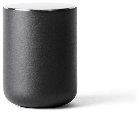 Modern Kitchen Canisters by Menu Container Black Modern Kitchen Canisters And