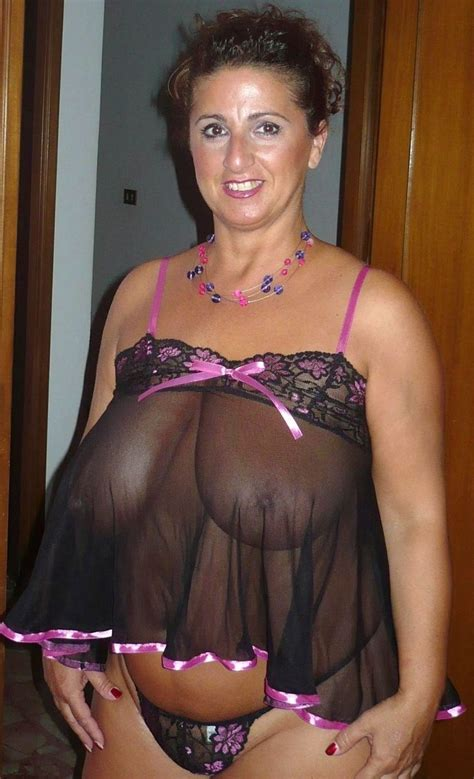 Fat Granny In See Through