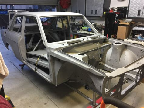Datsun 510 Roll Cage by 1971 Datsun 510 2 Door Sedan Solid Bare With