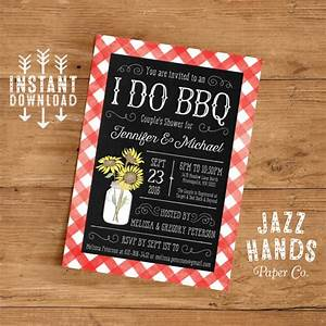 printable i do bbq couples shower invitation template With i do bbq wedding invitations templates