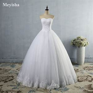 Zj9014 white ivory wedding dress lace prom gown bridal for White or ivory wedding dress