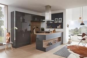 Küchen Aktuell Hannover : musterring k che mr2400 farbe nero grau modern k che hannover von k chen aktuell ~ Markanthonyermac.com Haus und Dekorationen