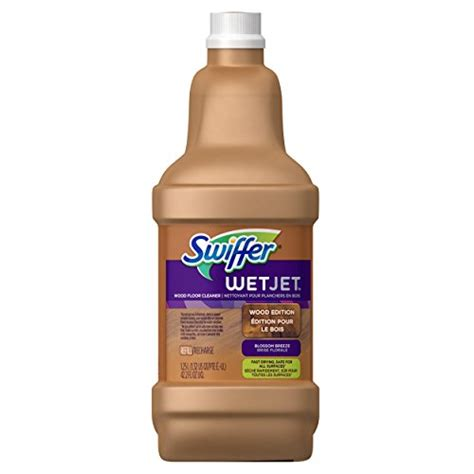 swiffer wetjet wood floor cleaner refill swiffer wetjet multi purpose floor cleaner solution refill
