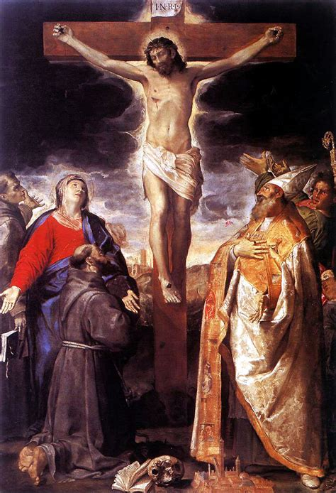 Baroque Artworks by Crucifixion Annibale Carracci Wikiart Org