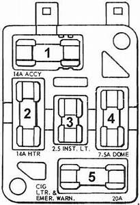 ford mustang 1967 1968 fuse box diagram auto genius With 67 mustang fuse box