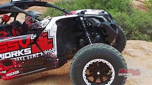 Ssv Can Am : ssv works unveils can am maverick x3 audio products at rally on the rocks youtube ~ Medecine-chirurgie-esthetiques.com Avis de Voitures