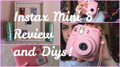 Instax Mini 8 Review + Diy!  Youtube