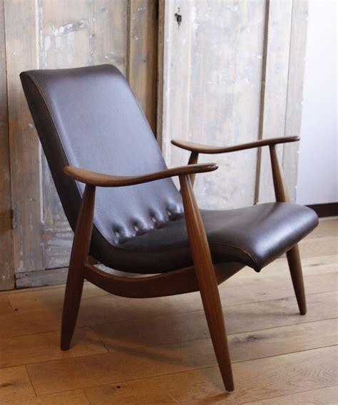 verkocht twee prachtige deense retro fauteuils te koop