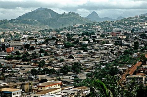 Yaoundé | A view of Cameroon's capital, from the Palais ...