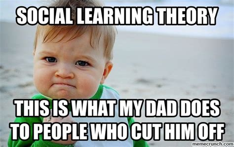 Theory Of Memes - social learning theory