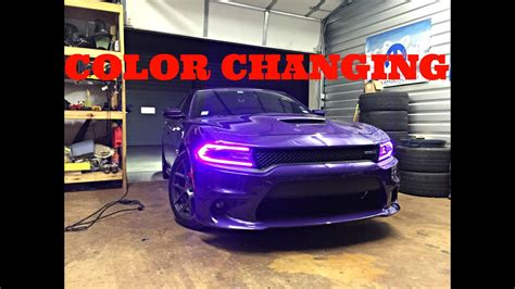 dodge charger rgbw drl led boards diode dynamics