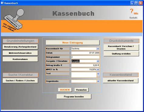 kassenbuch euro software