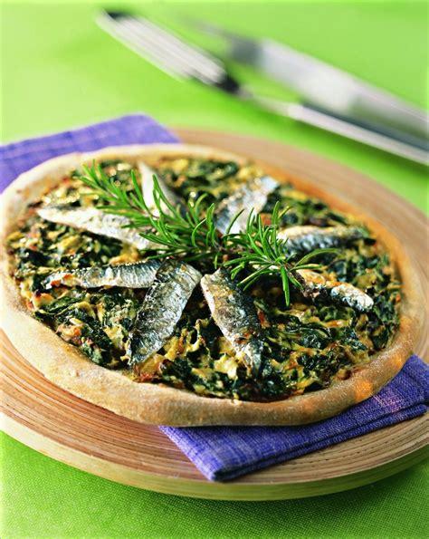 cuisine des blettes recette pizza aux blettes et sardines