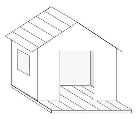 comment dessiner une cabane une cabane pour enfant esprit cabane idees creatives et ecologiques
