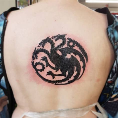 tattoos  especial game  thrones tattoos dragon