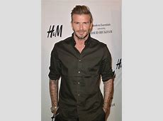 David Beckham reveals his fashion icons and discusses his