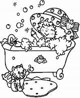 Bath Coloring Pages Taking Animated Desenho Picgifs Personal sketch template