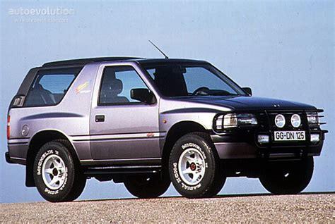 opel frontera 1995 opel frontera sport specs 1993 1994 1995 autoevolution