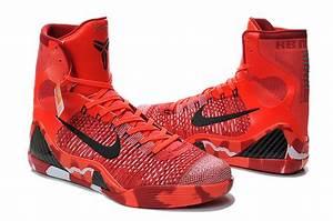Nike Kobe Bryant 9 High Christmas Red Shoes 2014 Nike Kobe ...