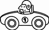 Coloring Race Driver Printable Cartoons Drawing Getdrawings Getcolorings Clipartmag Ecolorings sketch template