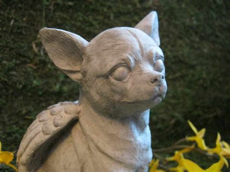 Chihuahua Garden Statue by Chihuahua Garden Statue Pets And Dogs
