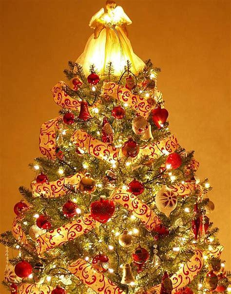 christmas trees  pinterest gold christmas tree