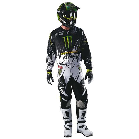 monster energy motocross gear thor 2013 phase s13 youth pro circuit monster energy