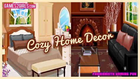 cozy home decor fun  decorating games  girls