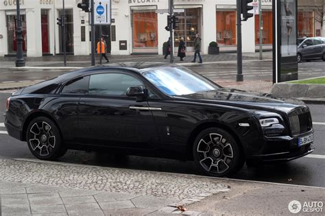 rolls royce wraith black badge rolls royce wraith black badge 18 march 2017 autogespot