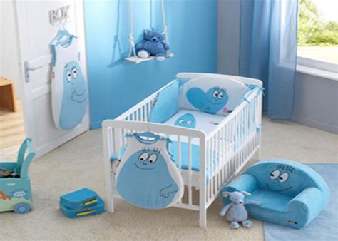 deco chambre b b gar on deco chambre bebe garcon bleu visuel 6
