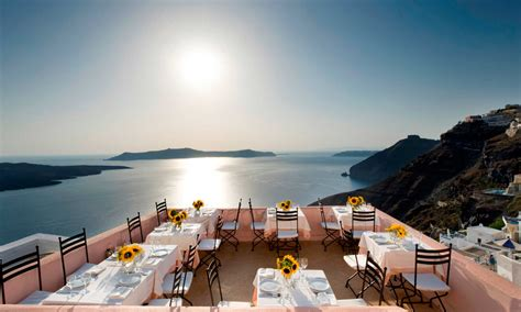 5 Best Restaurants Of Santorini With A View Santorini