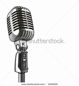 Old School Microphone Clipart (31+)