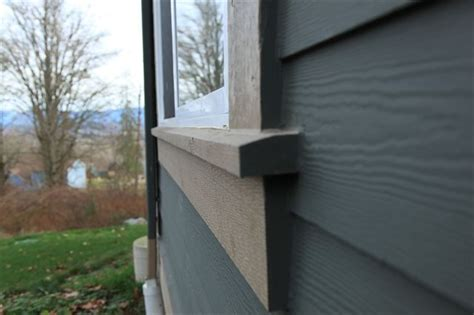 Exterior Vinyl Window Sill by Beveled Hardie Trim Diy Projects For The Exterior