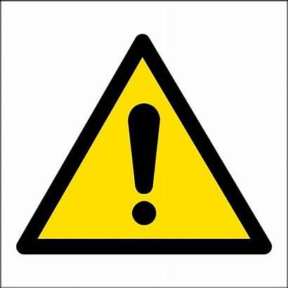 Hazard Warning Safety Signs Sign Symbol Symbols
