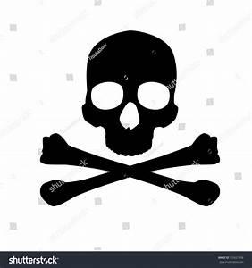 Sign Danger Life Skull Crossbones Stock Vector 153621908 ...